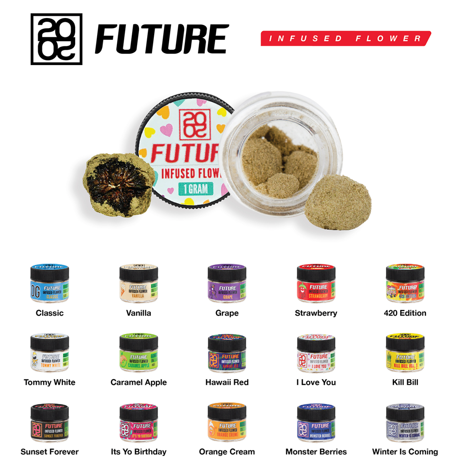 2020 Future Infused Flower Classic OG